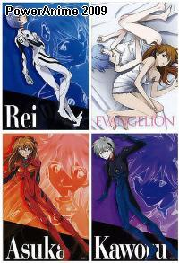 Neon Genesis Evangelion Childs Puzzle Collection - Set of 4
