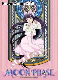 Wall Scroll: Moon Phase - Hazuki Stain Glass