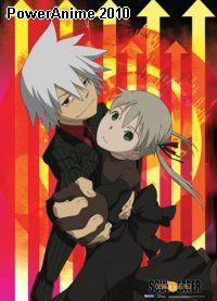 Soul Eater: Soul & Maka Formal Dance Wall Scroll