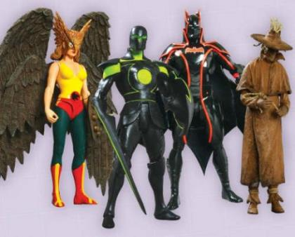 Justice League Alex Ross  Series 6 (Set of 8)