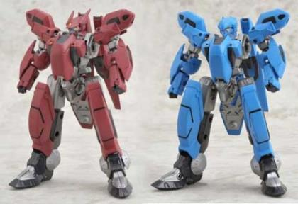 Nadesico: Aestivalis OG Battle Frame Action Figures (Set of 2 Subaru/Maki) (Brave Gokin 33)