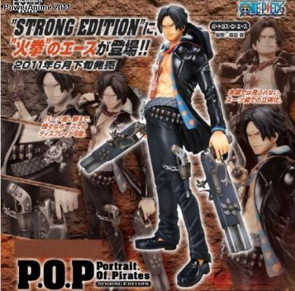 One Piece: Portgas D. Ace P.O.P. Excellent Model Figure (Strong World Edition)