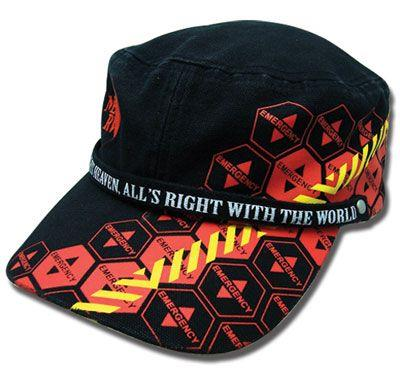 Cap: Evangelion - NERV Warning Military