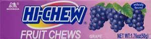 HiChew Grape (Display of 10 Packs)