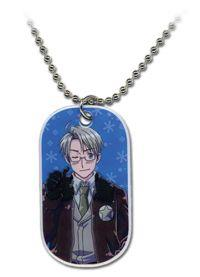 Necklace: Hetalia - America Dog Tag