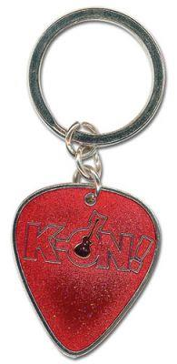 Key Chain: K-ON! - Guitar Pick