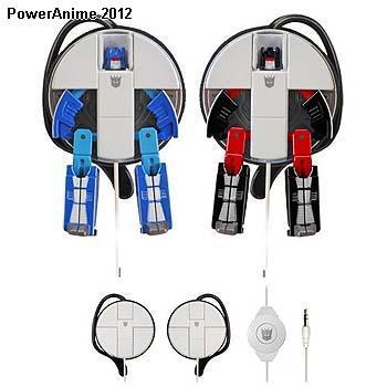 Transformers Music Label Earphones - Rumble & Frenzy