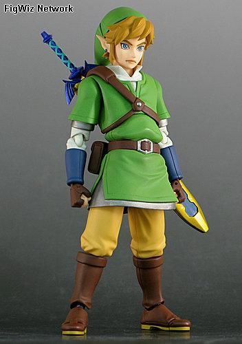 Zelda Skyward Sword: Link Figma Action Figure (Legend of Zelda) [Japan Release]