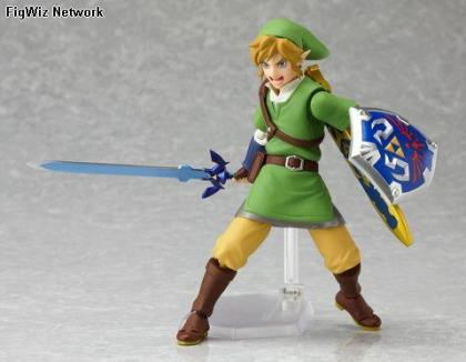 Zelda Skyward Sword: Link Figma Action Figure (Legend of Zelda)