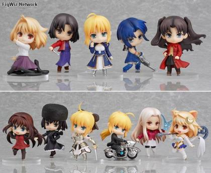 Fate Stay Night Characters on Of 12   Fate Stay Night  Tsukihime  Melty Blood  Fate Zero  Mahoutsuka